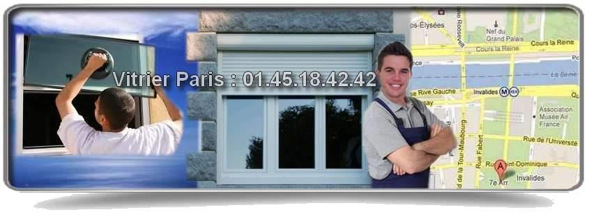 Vitrier Paris 7 est une équipe d'artisans vitriers spécialisés dans la réparation et le dépannage d'urgence en vitrerie. Présents dans le 7ème arrondissement proche de la Place des Invalides, de la rue du Champ de Mars, du Quai Branly, de Pont Royal ou encore près du boulevard de la Tour Maubourg. Vitrier Paris 7 réalise pour vous vos travaux de vitrerie tels que le remplacement de vitre cassée, la rénovation de fenêtres, les fermetures provisoires…